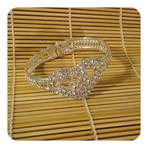 Fashion Jewelry Jewelry - Rhinestone heart bracelet